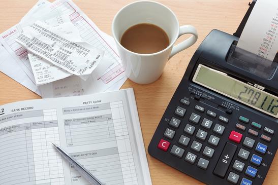 Bookkeeping sales ledger